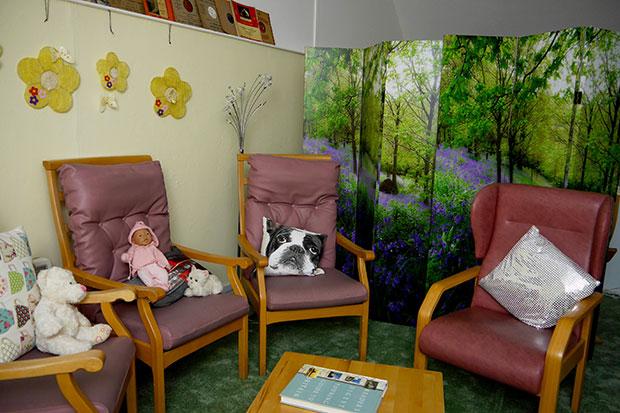 St Paul's Wood MindCare Dementia Centre Sensory Space