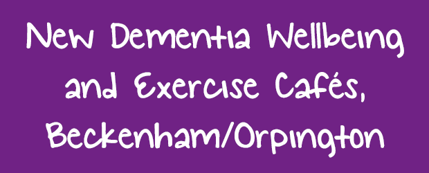 Dementia Cafe post banner