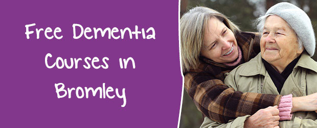 Bromley MindCare Dementia Courses 2017 banner