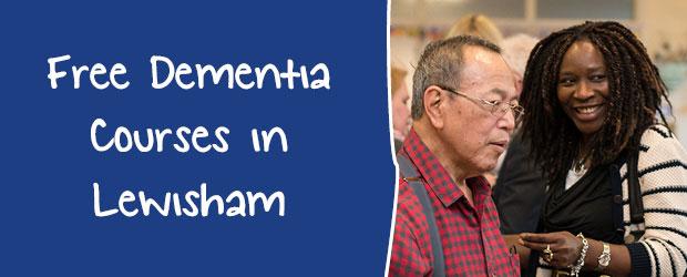 Lewisham MindCare Dementia Courses 2017 banner