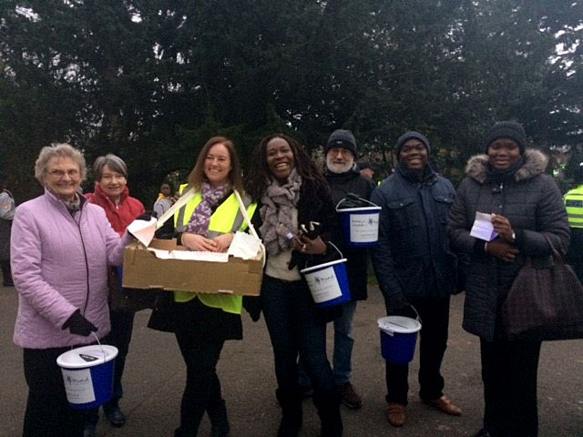 MindCare Volunteers at the Beckenham Christmas Parade 2017