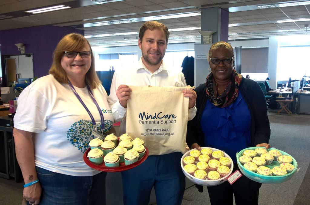 BT Openreach staff fundraising for Bromley MindCare Dementia Support