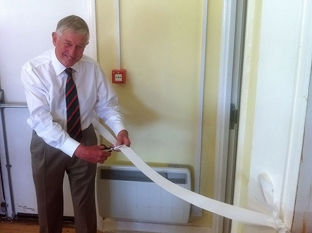 Kent Southern officially opens the St Paul's Wood Sensory Space for clients with dementia