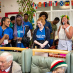 NCS volunteers at the Beckenham MindCare Dementia Centre in Bromley